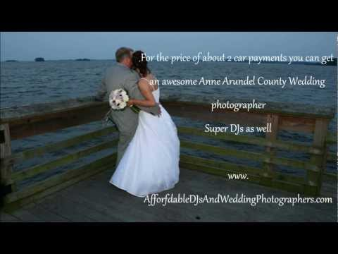 Affordable Wedding Photographers in Anne Arundel County MD Annapolis Glen Burnie photography DJs
