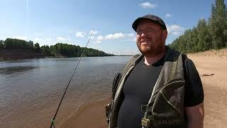Рыбалка на Вятке в июне На фидер Оричевский район