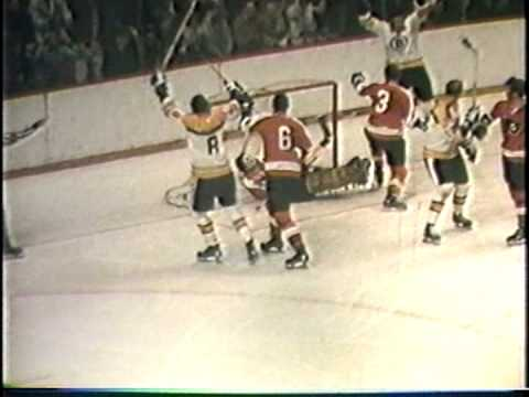 1969-70 Bernie Parent Philadelphia Flyers and Boston Bruins Bobby Orr Phil Esposito