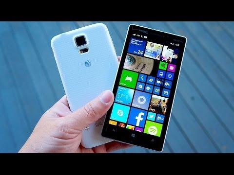 Galaxy S5 vs Lumia Icon | Pocketnow