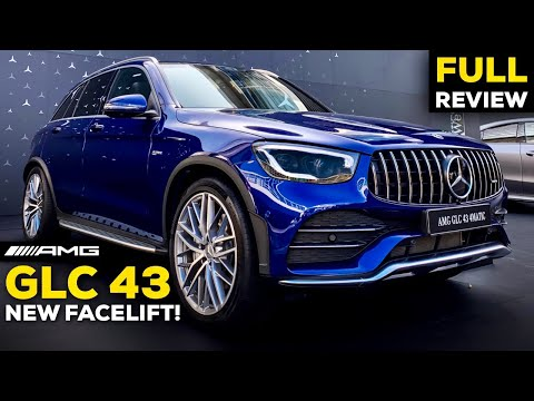 2020 MERCEDES AMG GLC 43 NEW Facelift FULL Review BETTER Than BMW X3?! MBUX Interior Exterior 4K