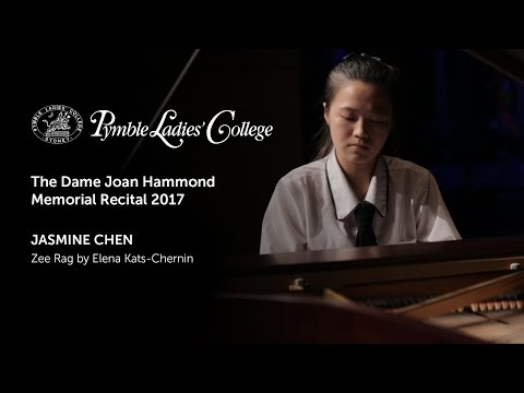 Jasmine Chen - Zee Rag by Elena Kats-Chernin | Pymble Ladies' College