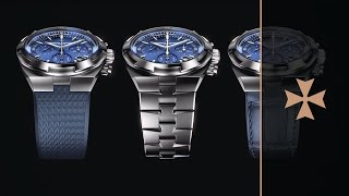 Overseas - 1 watch / 3 styles  - Vacheron Constantin  (available in 4K)