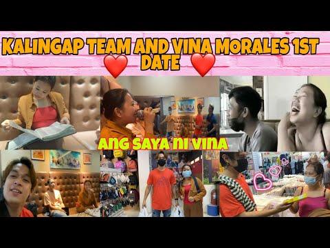 KALINGAP TEAM AND VINA MORALES 1ST DATE   REACTION -  (2020)
