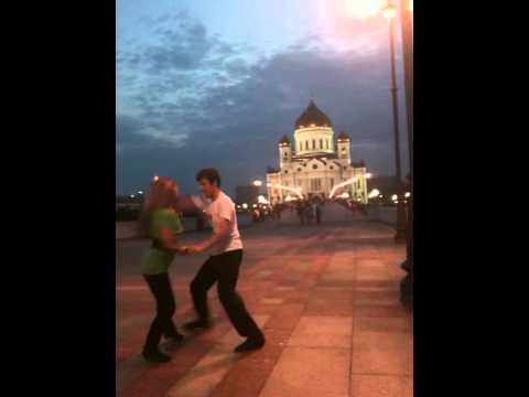Moscow zouk open air parties. Zara & Andrey