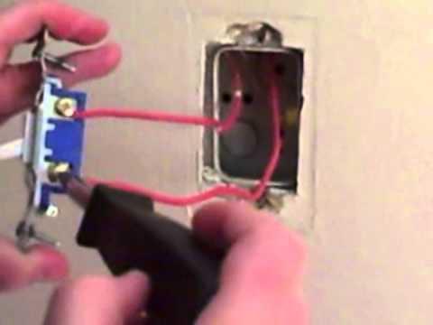 wiring a switch  single pole switch  conduit