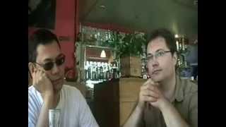 Franck  Nguyen  et Serge Bret Morel,  Lyon  avec Jacques Halbronn 2008