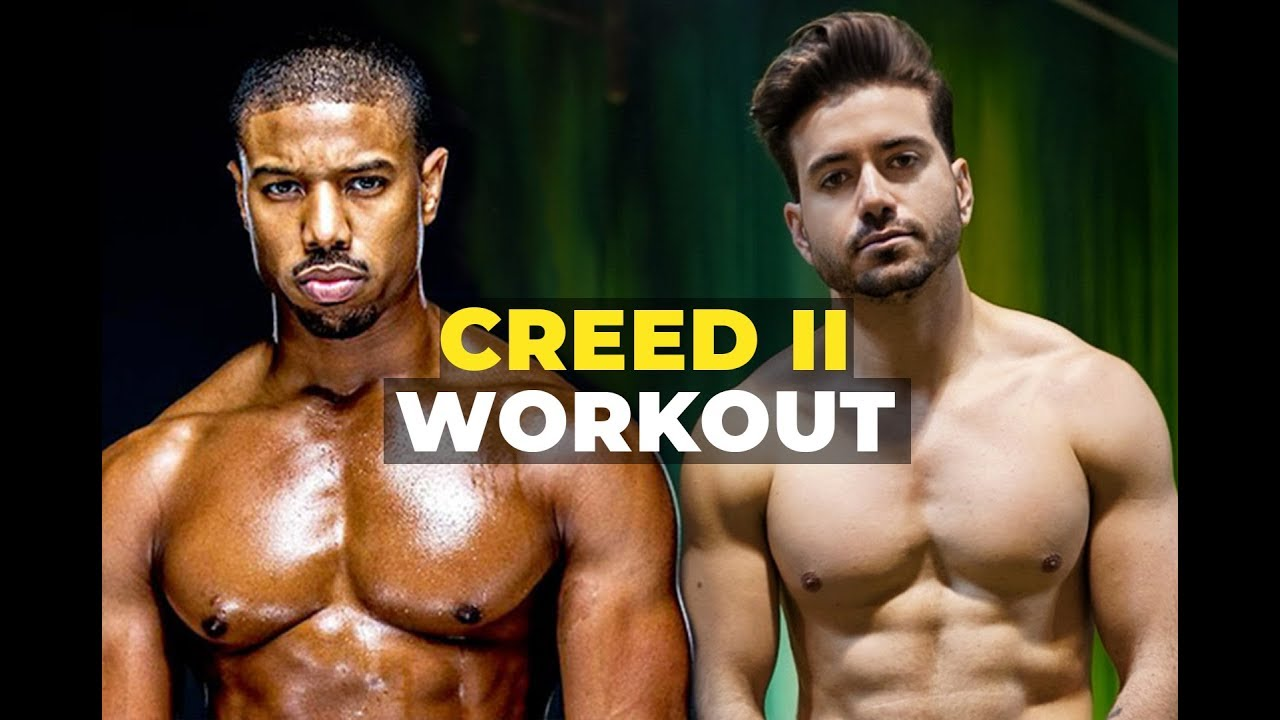 I Trained Like Michael B Jordan for Creed 2 ft  Corey Calliet | Men's  Workout Routine