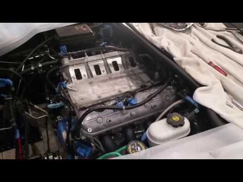 Removing Intake Manifold From LS Motor. Procharged C6 Corvette LS3 Build. Part 15