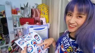 Vê Vê Channel || Chỉ Sử Dụng Tất Cả Đồ Doraemon || Challenger