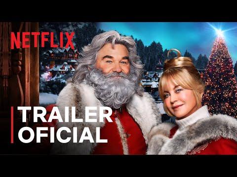 Crônicas de Natal: Parte Dois, com Kurt Russell e Goldie Hawn | Trailer oficial | Netflix
