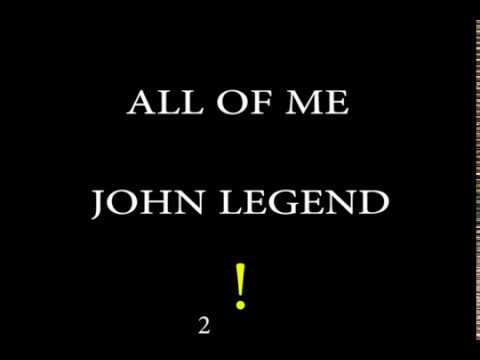 ALL OF ME - John Legend (Easy Chords And Lyrics)