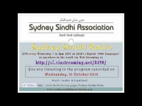 Sydney Sindhi Radio from 10 October 2012