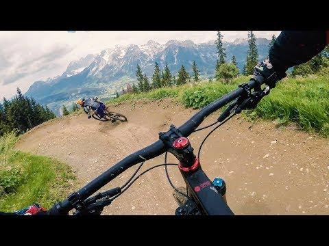 BIKEPARK SCHLADMING Opening / Downhill Santa Cruz Nomad 2018