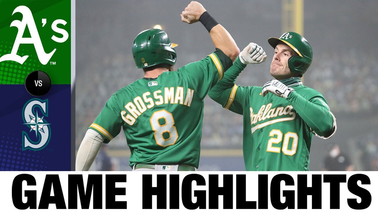 Mike Minor shines in the Athletics' shutout of the Mariners | A's-Mariners Highlights 9/14
