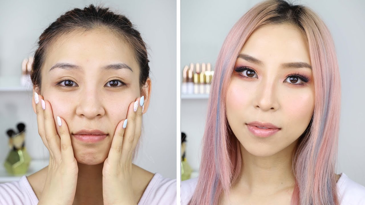 Makeup Transformation + Hourglass Makeup Giveaway!