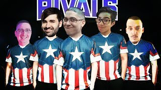 I MADE MY OWN TWITCH RIVALS TEAM (VS TEAM TYLER) - Trick2G