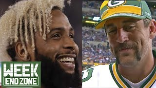 OBJ v. Aaron Rodgers: Whose Contract Was More Iconic? | WEZ