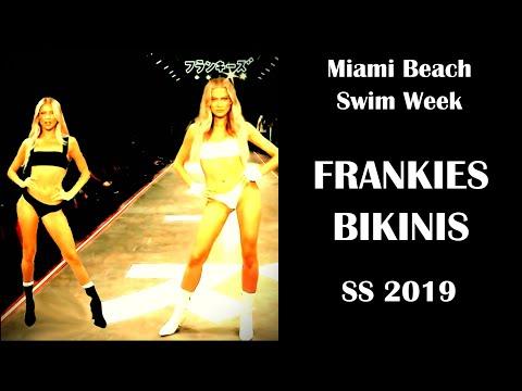 Моный Показ Купальников Бикини 2019 FRANKIES BIKINIS. Демонстрация Актуальных Новинок Пляжной Моды