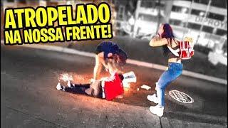 ELE FOI ATROPELADO NA NOSSA FRENTE!!!