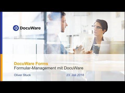 Webinar: Neue Mitarbeiter Mit DocuWare Forms Einfach Ins Unternehmen Einbinden