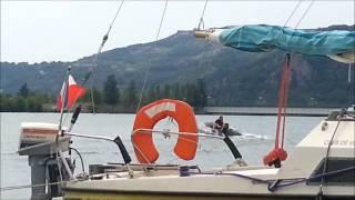 déjaugeage bateau penumatique 2m70 et moteur yamaha 4cv