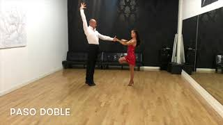 Pasodoble dance lessons - Dance Studio NS DANCING