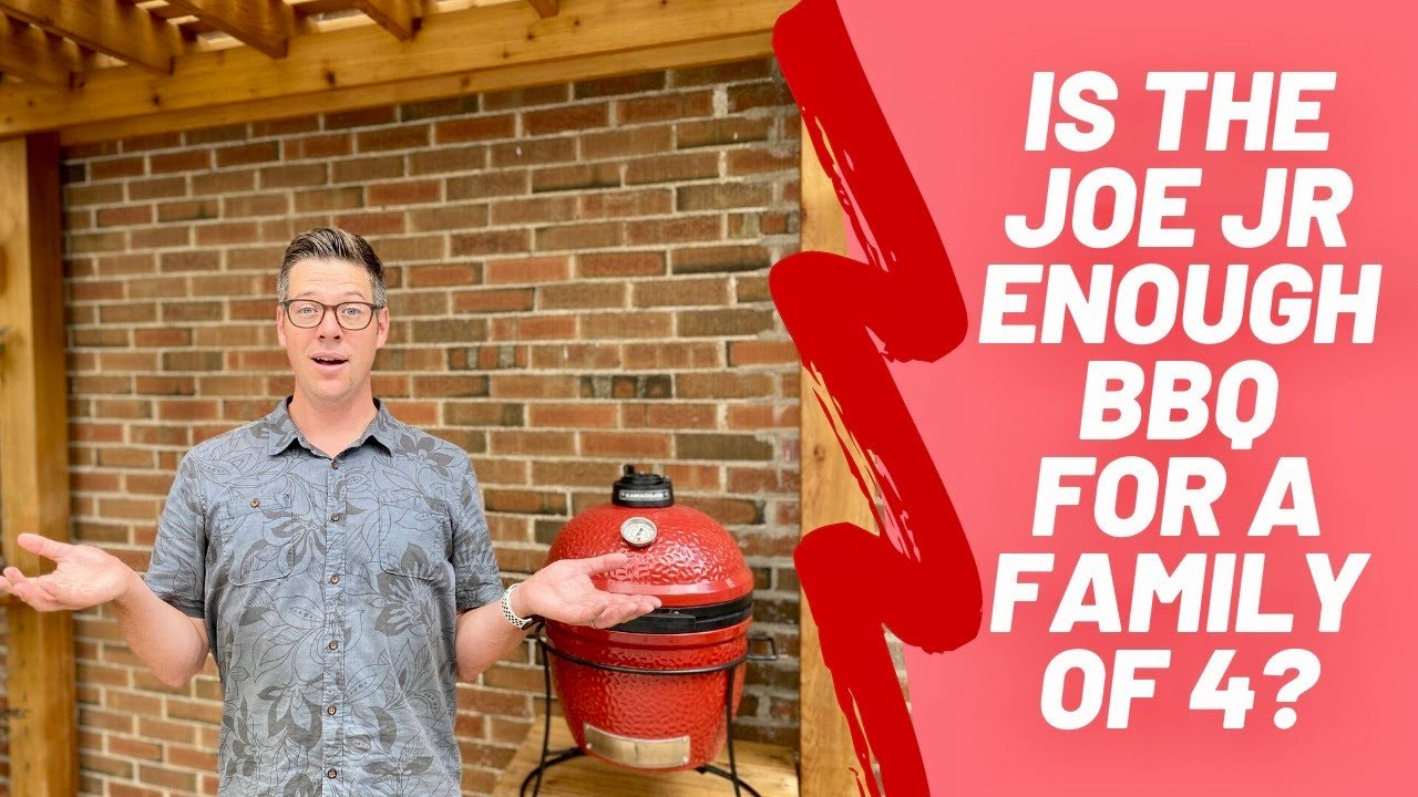Kamado Joe Jr. The BEST family BBQ?  I tried using ONLY the Jr. for 2 weeks, this is what happened!