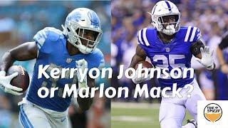 2019 Fantasy Football Kerryon Johnson or Marlon Mack?