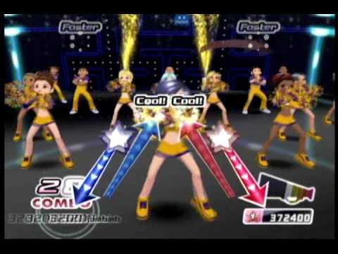 We Cheer 2 (Wii) - Gameplay Sample ('Pump It' - Black Eyed Peas ...