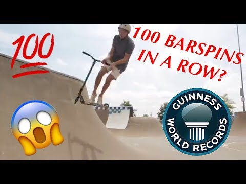 BREAKING SCOOTER WORLD RECORDS!!!
