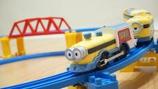 Lucu sekali suara mainan kereta api ini 🤣🤣🤣 Jessica Jenica unboxing minions railway