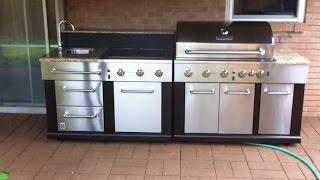 Master Forge Modular Gas Grill