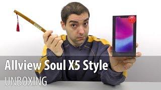 Allview Soul X5 Style Unboxing (Telefon Elegant cu ecran de 6.2 inch, deblocare facială)