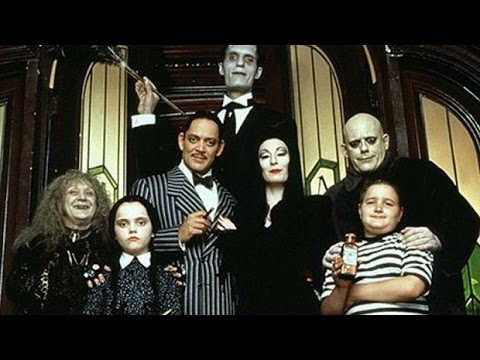 The Addams Family 1991  Then and Now 2016