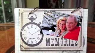 Quick Crafts:  Picture Frame Easel