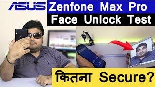 Asus Zenfone Max Pro M1 Face Unlock Test   Secure