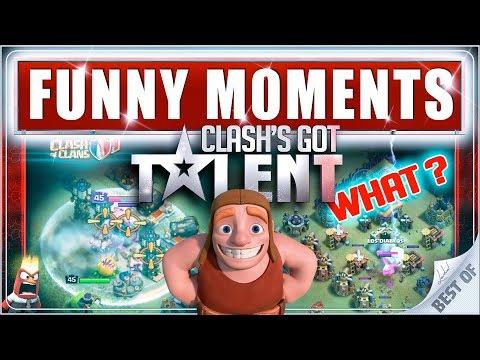 COC Funny moments & Glitches & Fails - CLASH GOT'S TALENT #4 - Clash of Clans