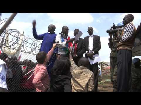 July 20th 2016 Protestors Petition UNMISS