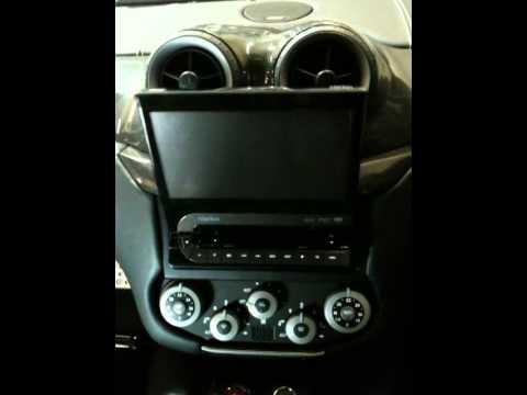 Ferrari 599 Motorised Navigation Screen Install Youtube