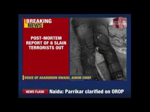 Post Mortem Report Of SIMI Terrorists Reveals Majority Wounds Above Waist