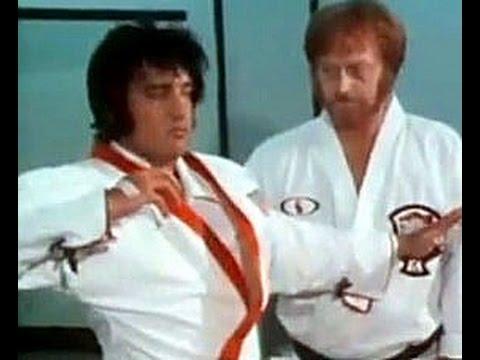 Chuck Norris vs Elvis Presley  YouTube