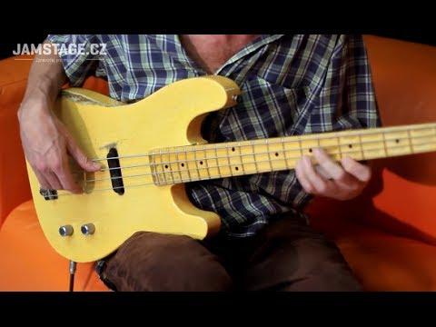 Fender Custom Shop Dusty Hill Precision Bass