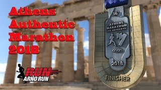 Athens Authentic Marathon 2018