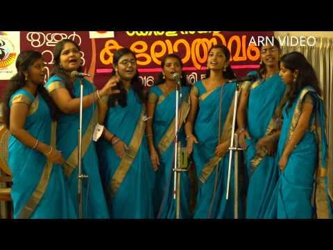 Group Song at Thrissur District Kerala School Kalolsavam 2016