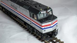 MTH Amtrak F40PH Lashup Premier Proto 2.0
