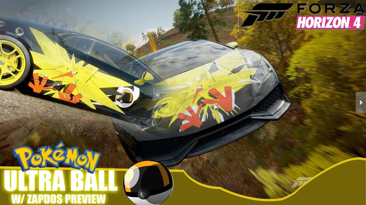 Forza horizon 4 custom vinyl ultra ball zapdos preview