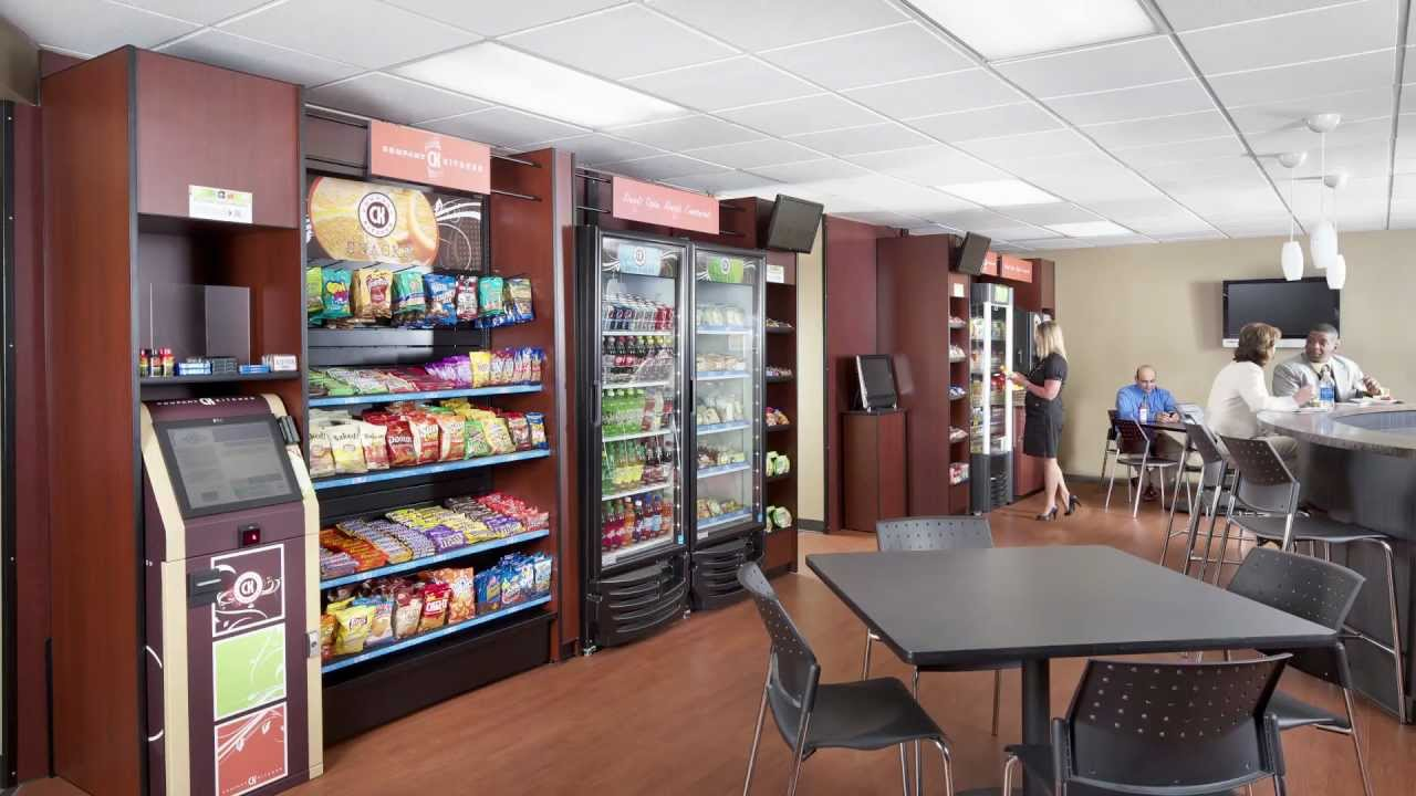 Great Welcome To Company Kitchen | Micro Market Vending In Your Breakroom!    YouTube