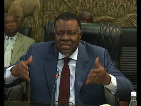 President Geingob urges investors to first discuss investment proposal with line ministers - NBC