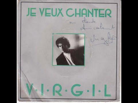 Jean-Pierre Virgil Je veux chanter